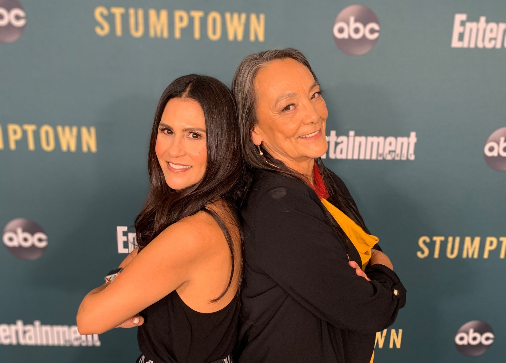 "Joely Proudfit (left), an American Indian Studies professor at Cal State San Marcos, is a consultant on the new ABC series ""Stumptown,"" specifically advising on the Native character played by Tantoo Cardinal (right)."