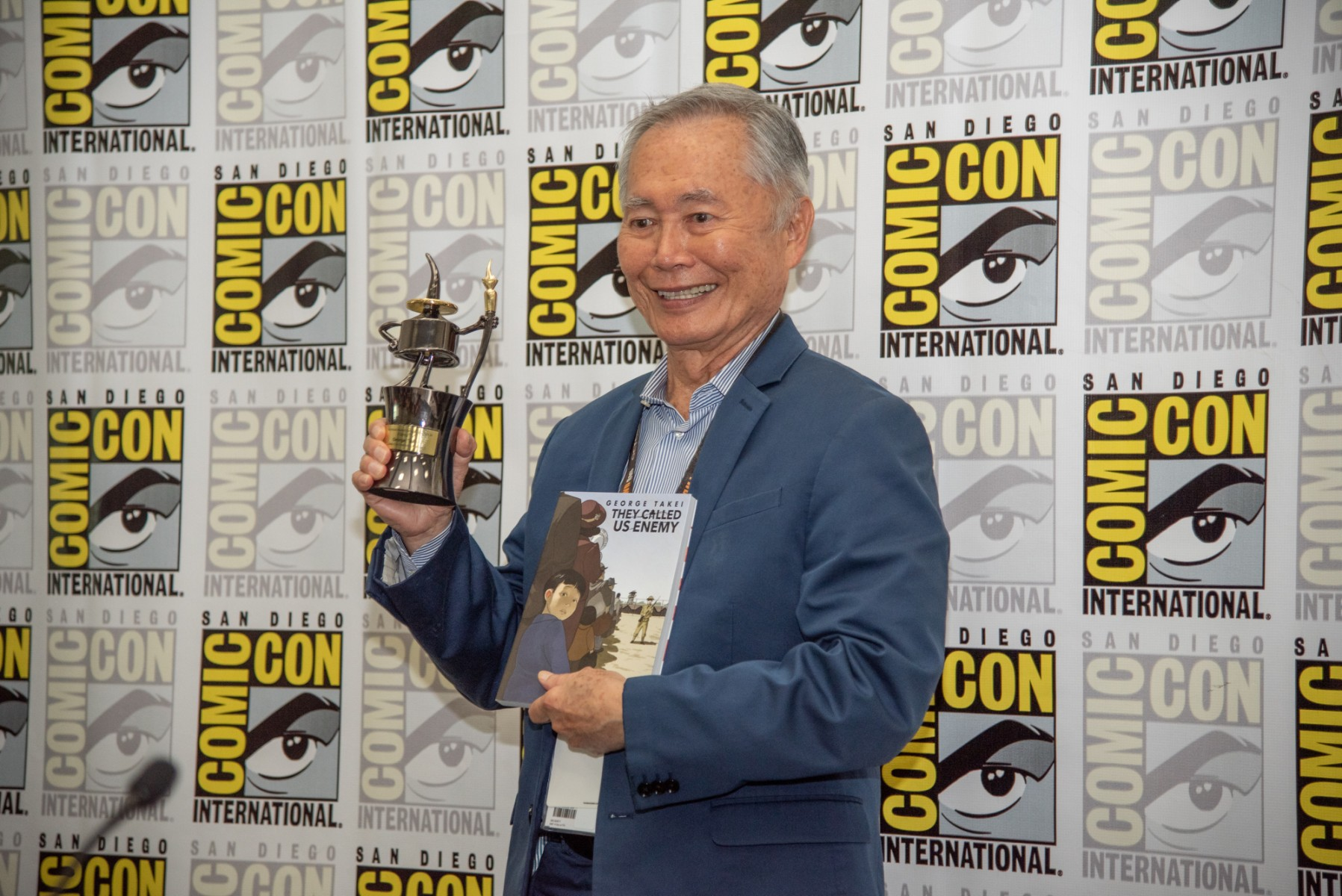 "Actor and activist George Takei is the author of ""They Called Us Enemy,"" which has been selected as the CSUSM Common Read for 2020-21."