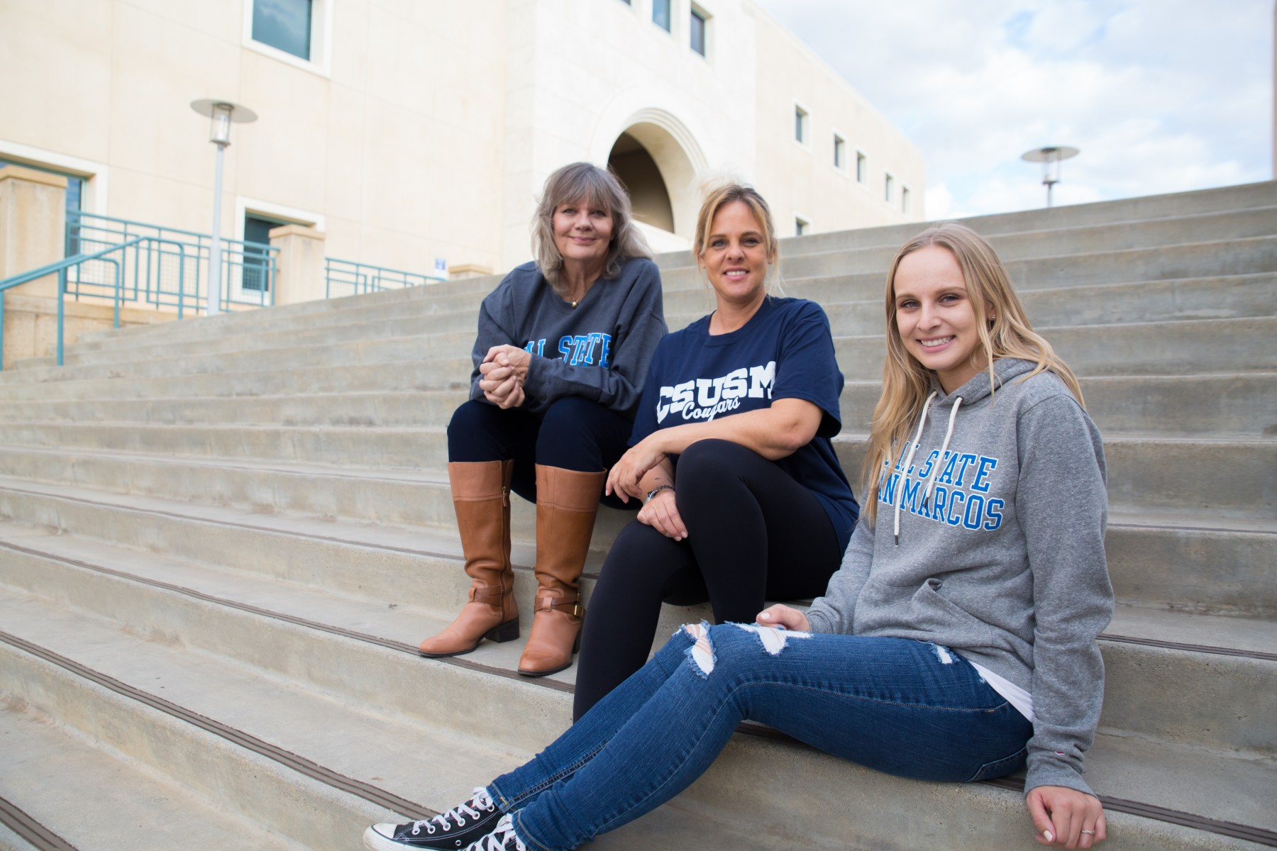Three Generations at CSUSM