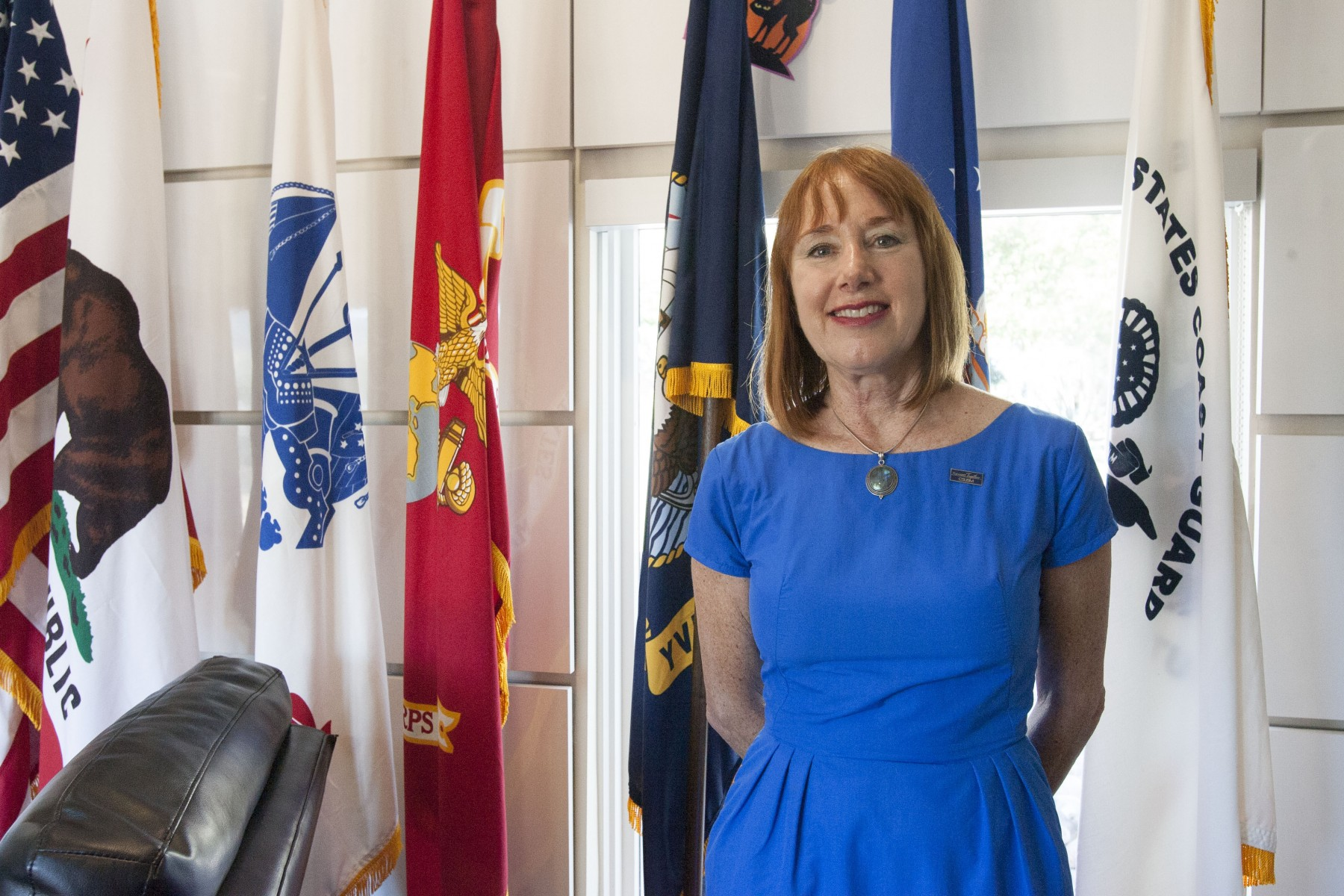 Patricia Reily, Director of CSUSM's Veterans Center