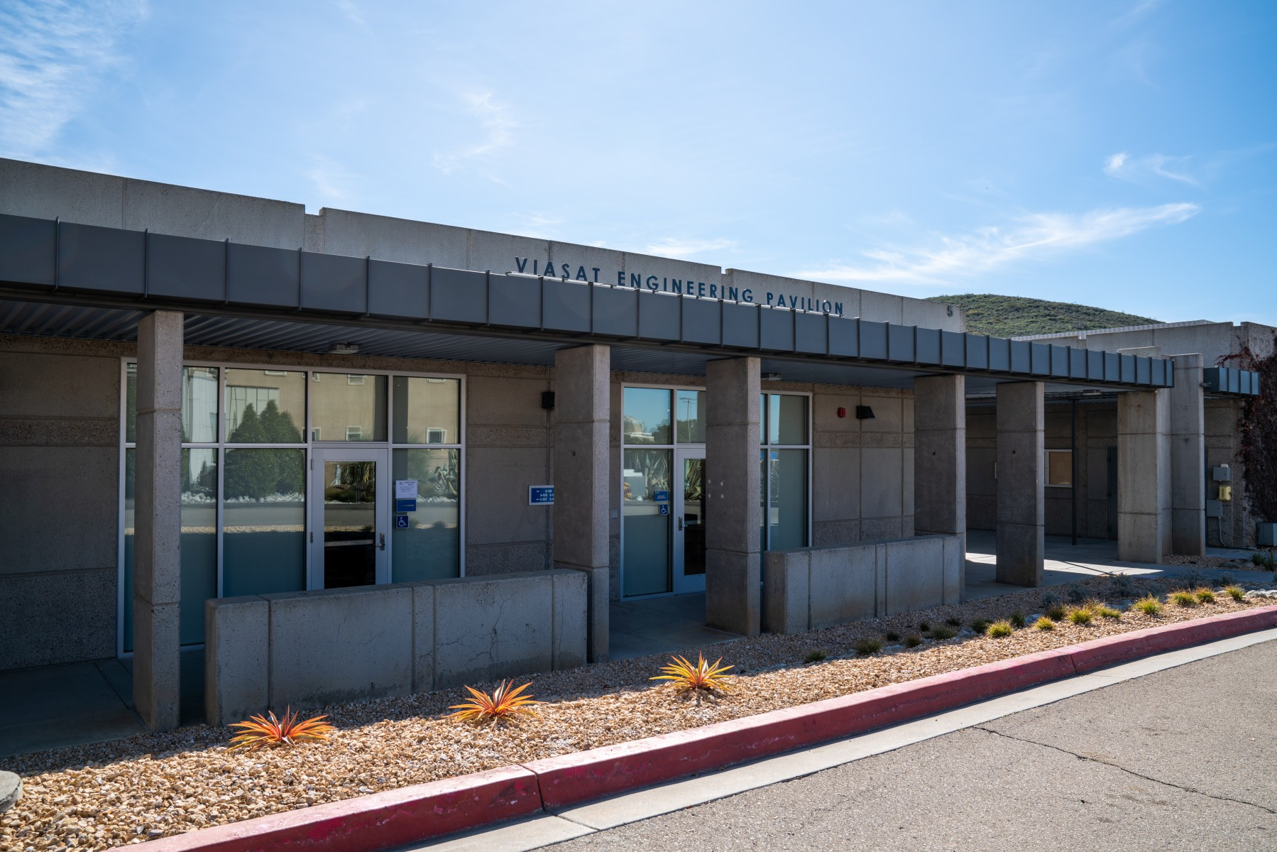 The Viasat Engineering Pavilion is home to CSUSM's programs in electrical and software engineering.
