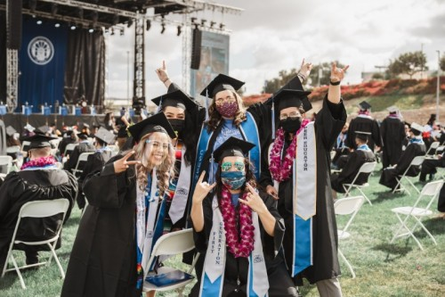 Thumbnail: Two Graduating Classes Celebrated at Commencement