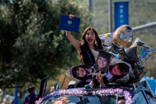 Thumbnail: CSUSM Celebrates Class of 2020 with Unique Parade