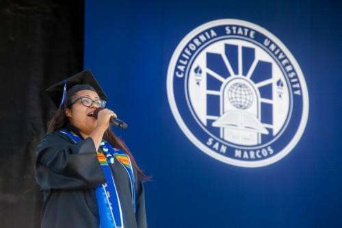 Thumbnail: Inspiring Story Helps New Grad Earn Plum Singing Gig on July 4