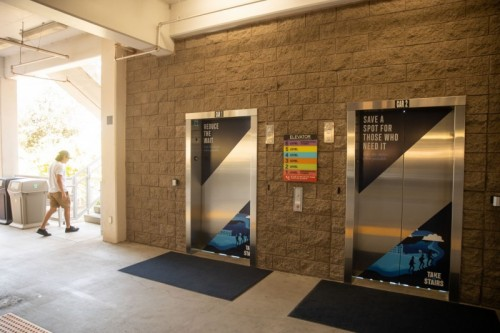 Thumbnail: New Campaign Encourages Campus to Take Stairs When Possible