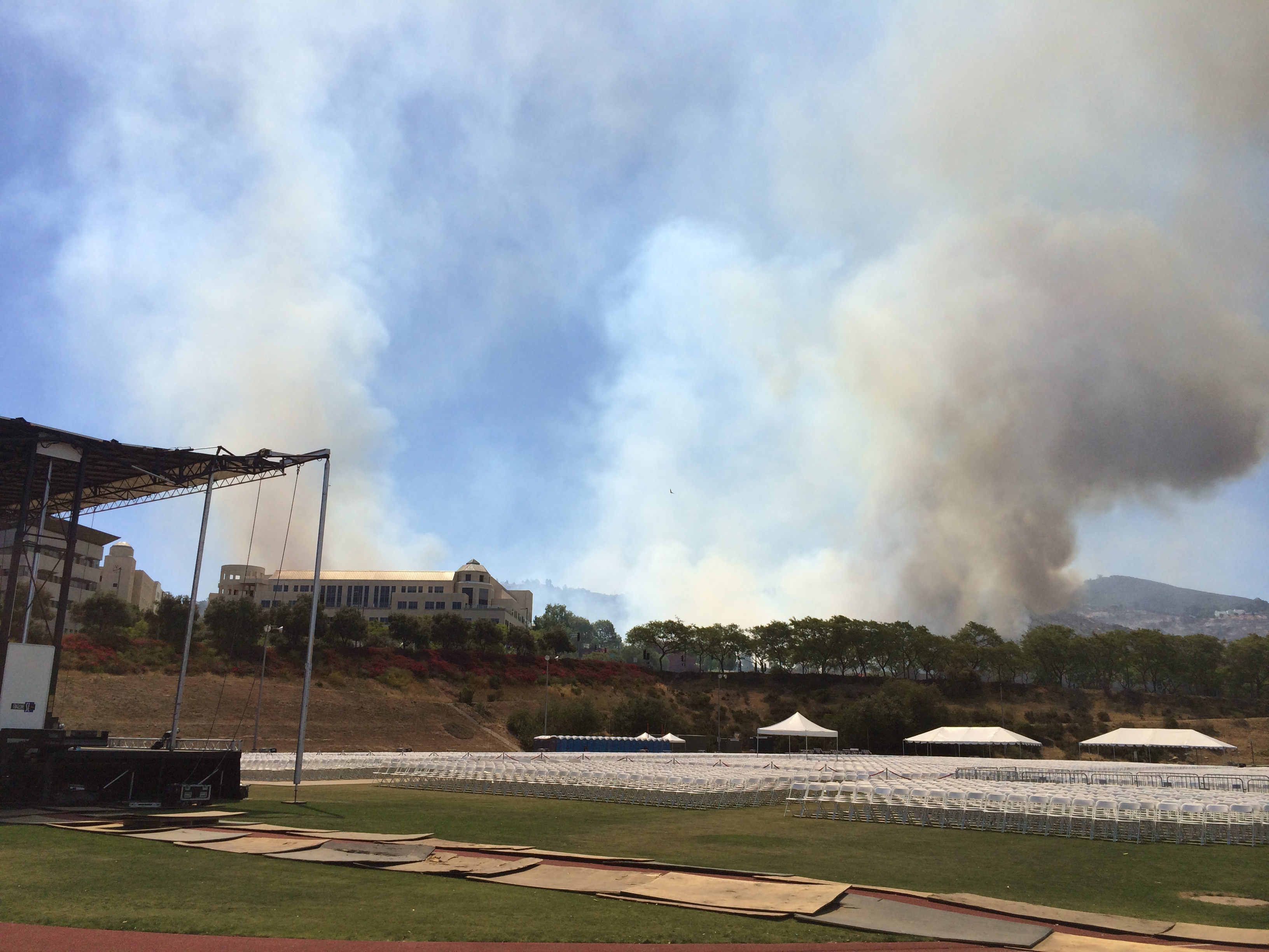Cocos Fire prompts Commencement to be rescheduled