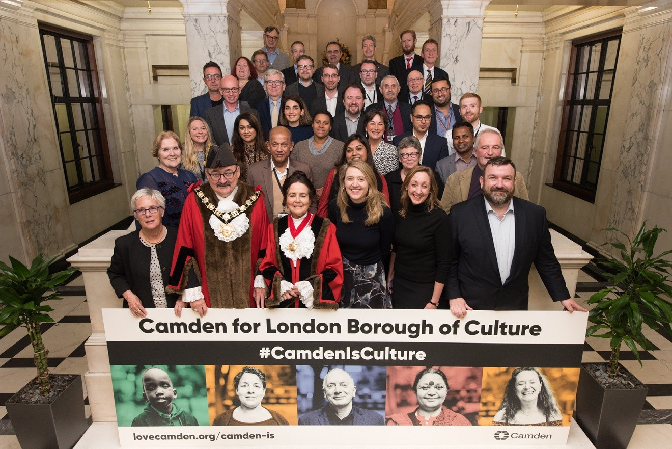 Camden Council group picture 2
