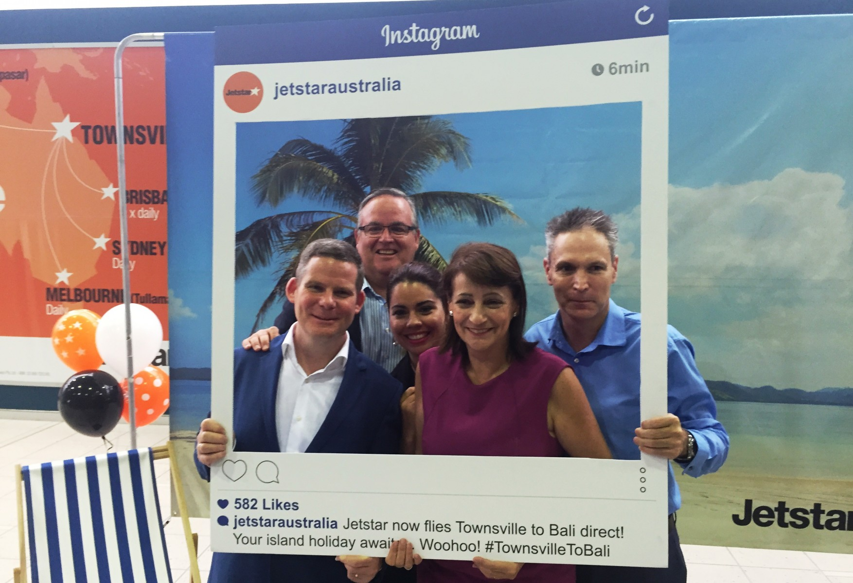Townsville-Bali route launch - David Hall
