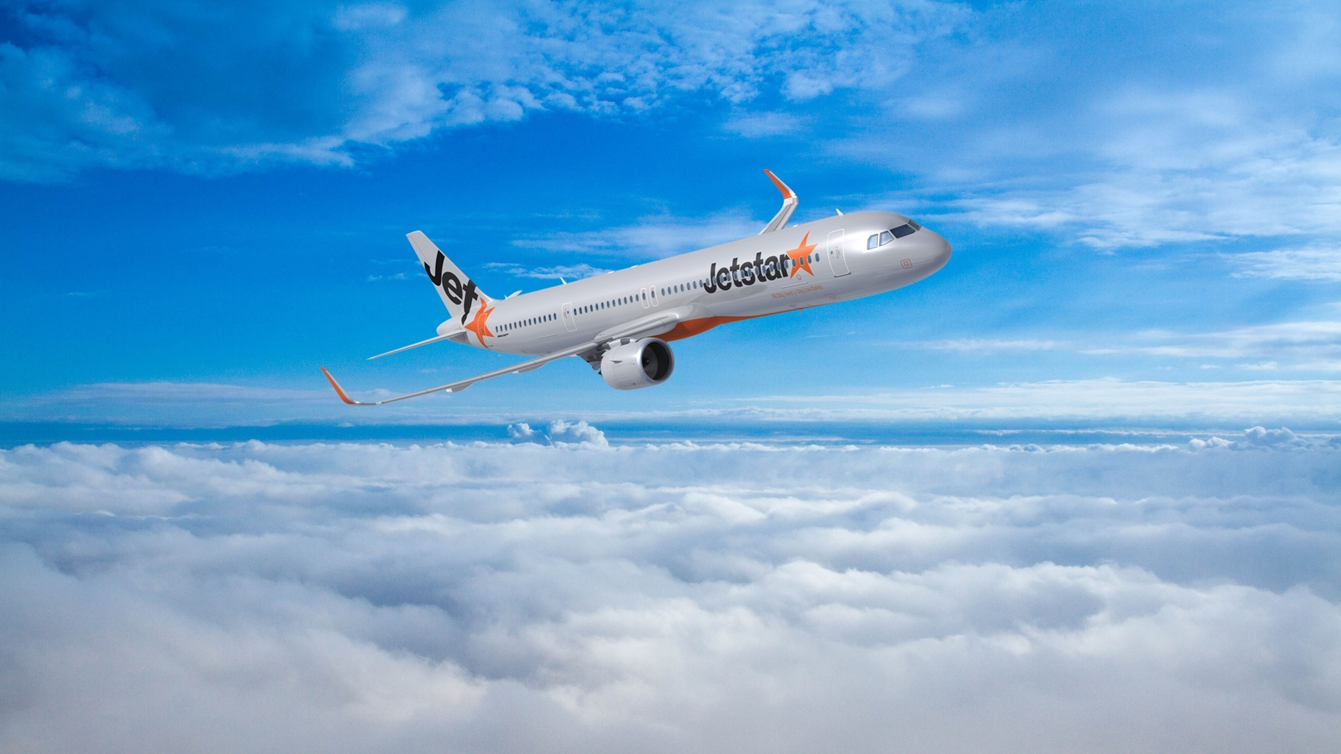 Jetstar Introduces Its New Airbus A321neo Lr