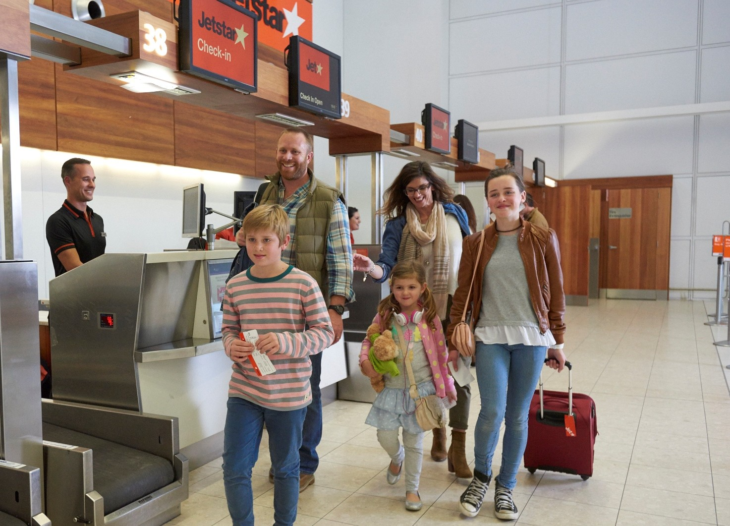 Summer is the busiest travel period for Jetstar