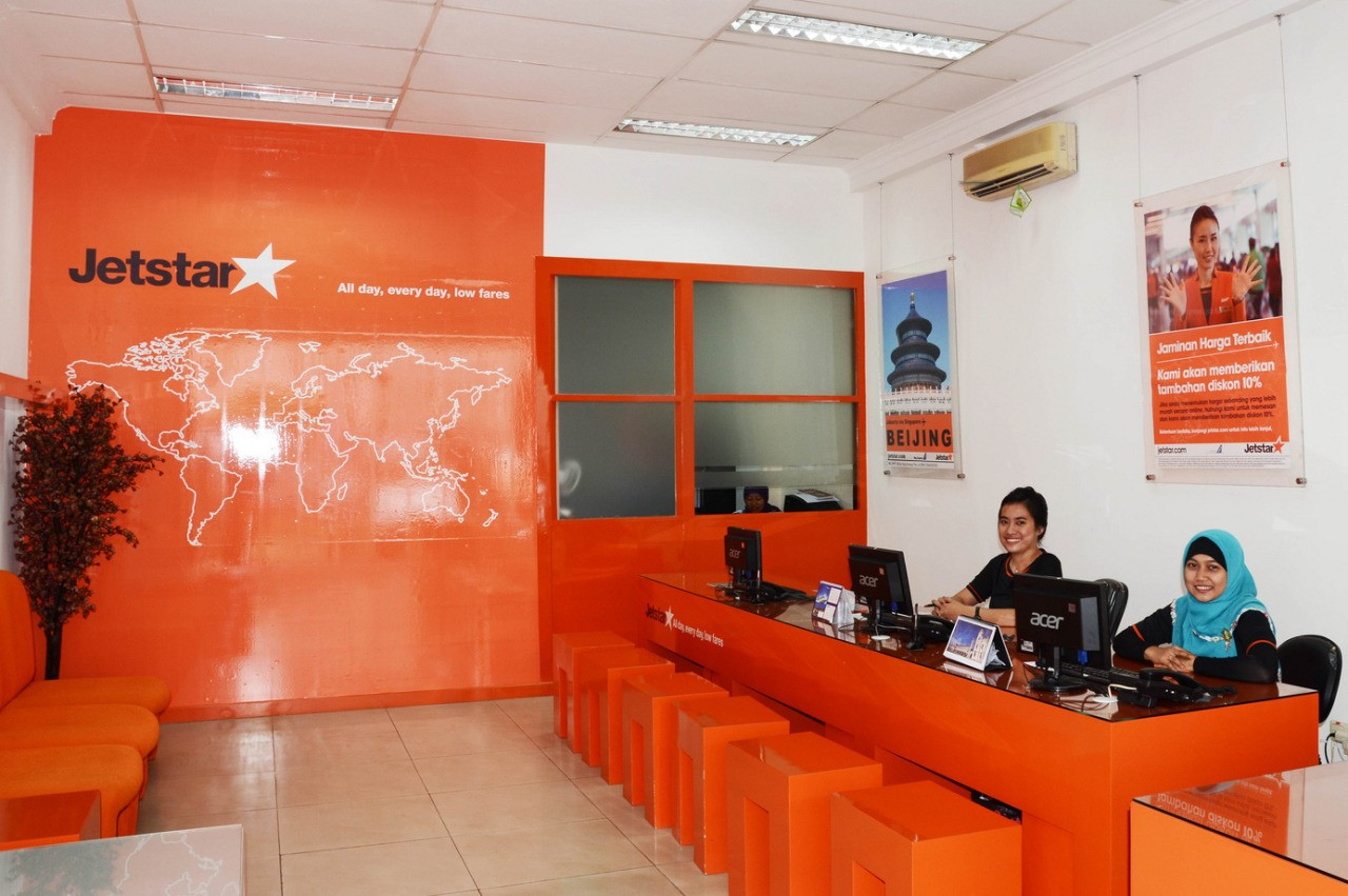 Third Jetstar Travel Shop in Indonesia