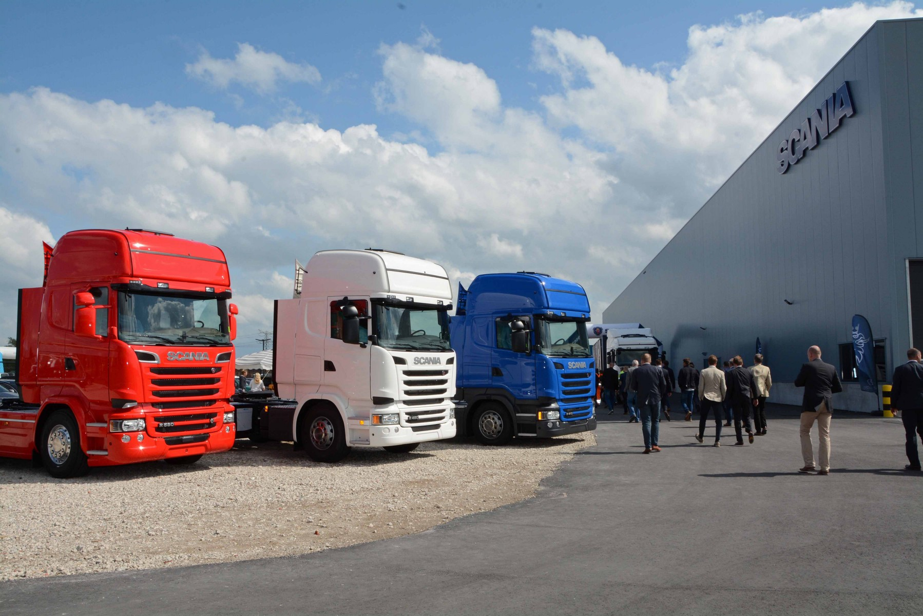Opening Scania