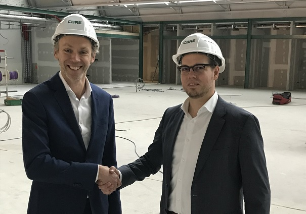 CBRE partner Madaster