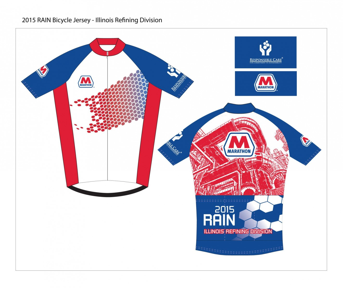 Rendering of the MPC employee bicycle jersey