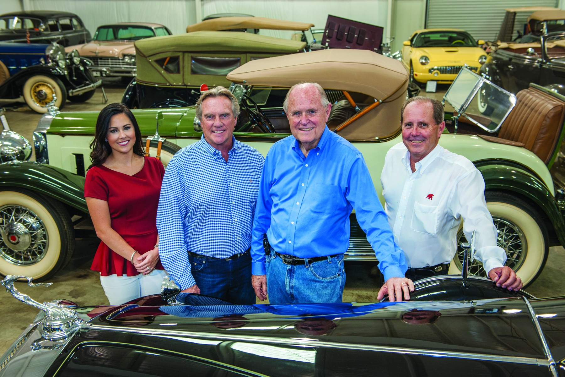 Moore's management team (left to right) include Rebecca Moore Swann, Rocky Neason, Ron Moore,  Joey Moore