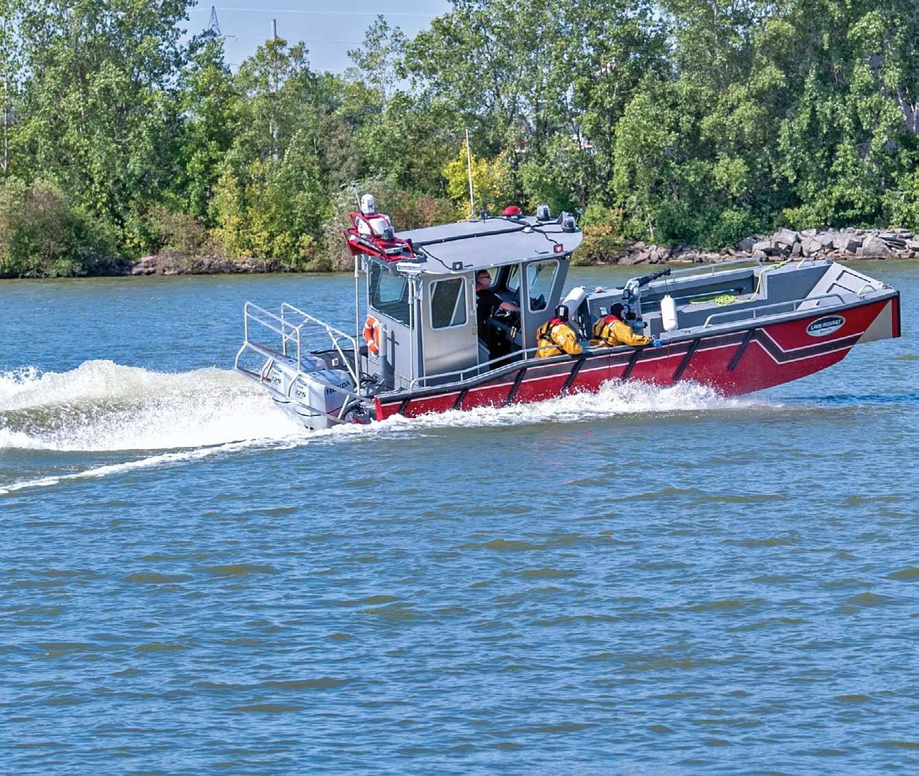 MPC and other industry partners pooled resources with the Green Bay, Wisconsin, Fire Department to purchase a firefighting and rescue boat to serve the community and local industry.