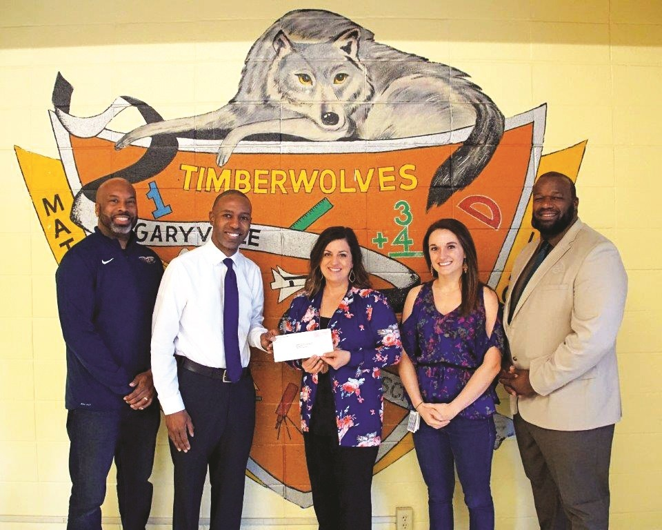 Garyville, Mt. Airy Magnet School donation