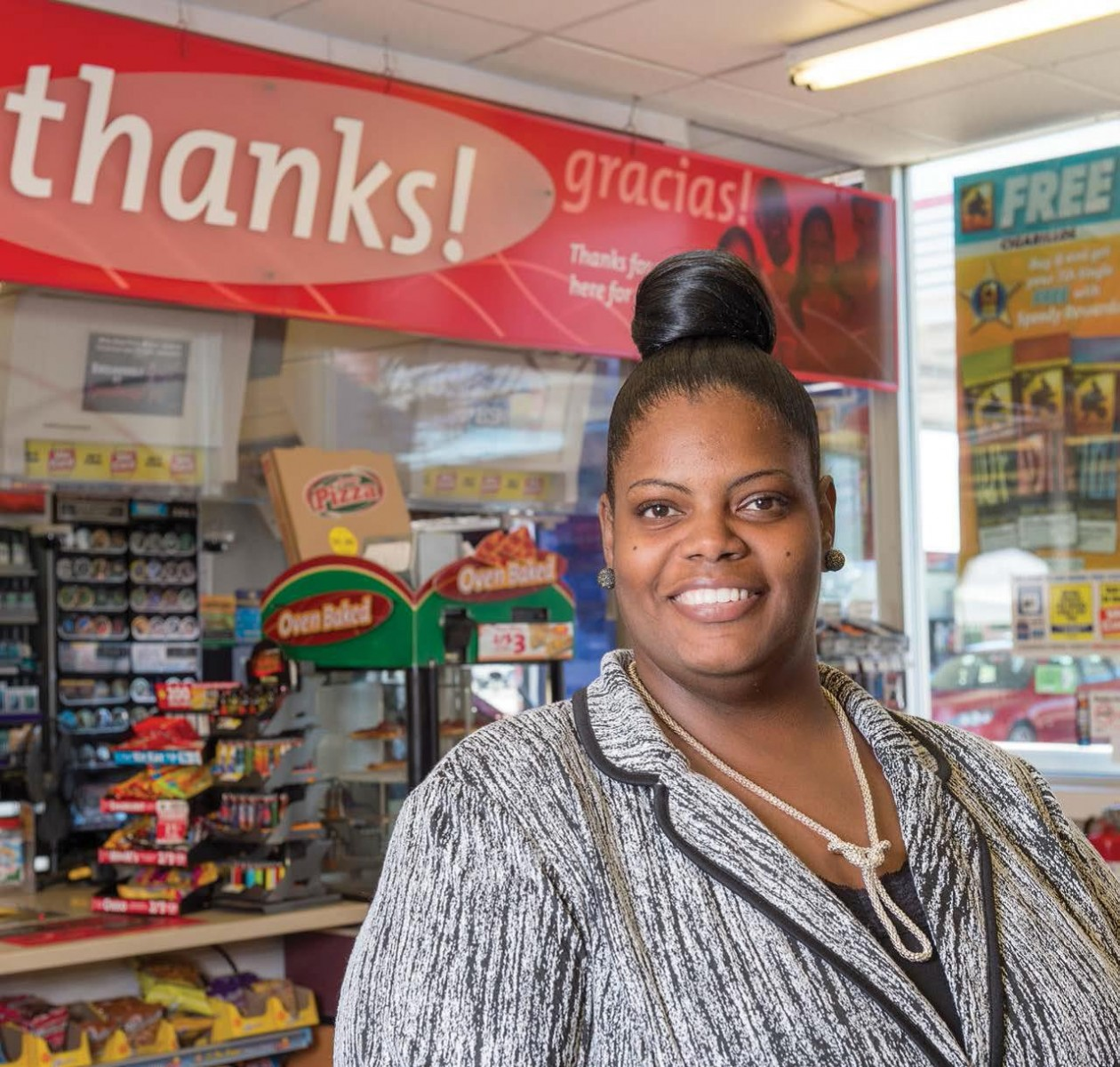 Speedway Recruiter Geritha Courts started her career as a part-time customer service representative. Her talent and drive opened up a variety of options.