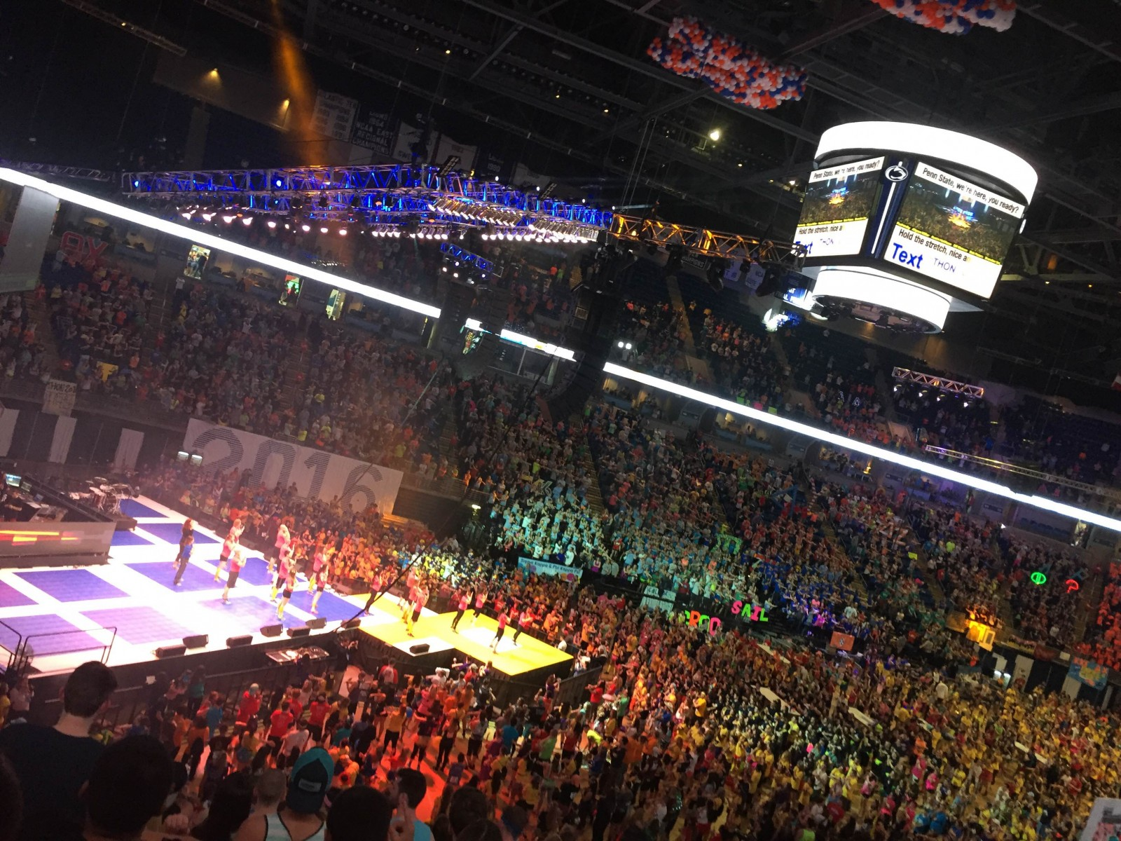 THON attracts thousands of dancers raising money to help battle cancer