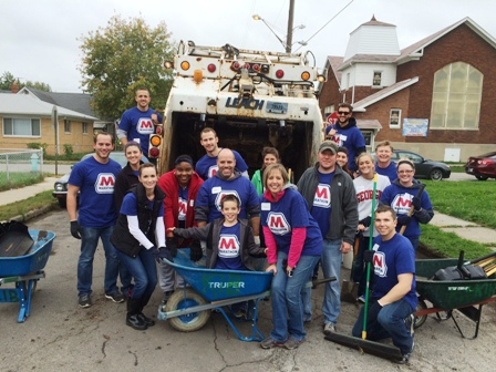 Indianapolis-area MPC employees participate in the Great Indy Cleanup