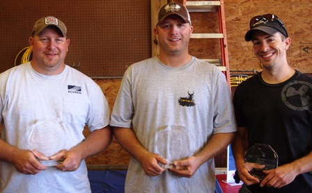 Top scorers of the Canton clay shoot
