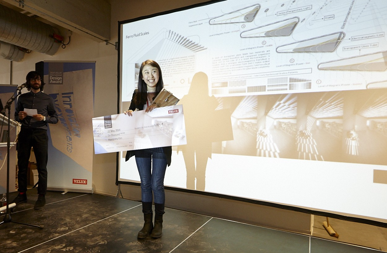 Hyunjeong kim wins the first velux international design for International decor designs