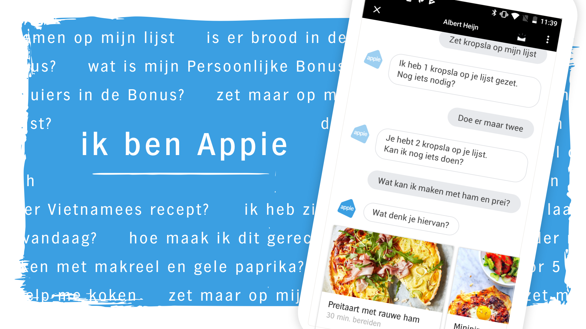 Albert Heijn via Google Assistent