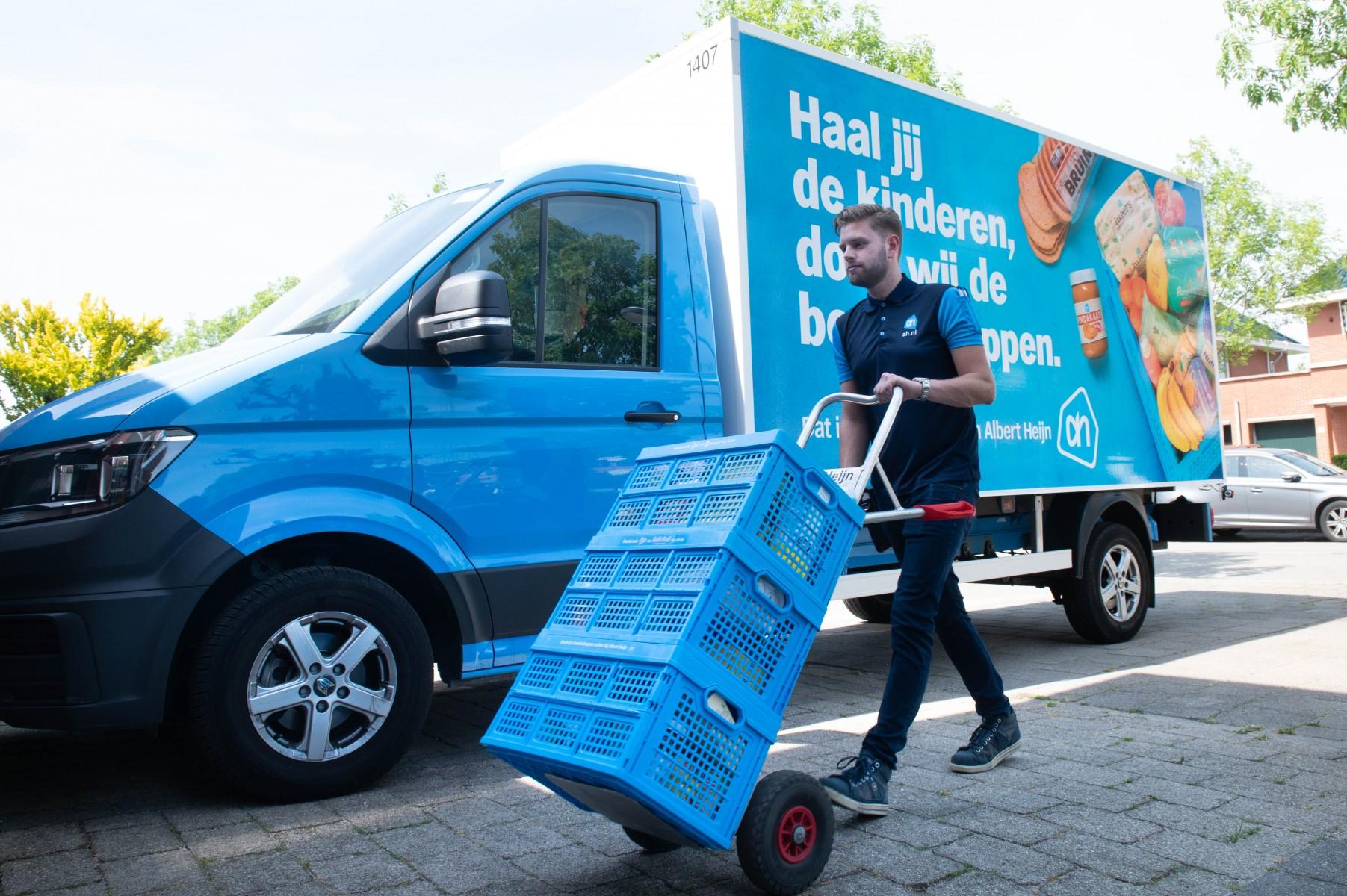 Albert Heijn organiseert open dag voor werving nieuwe bezorgers in Almere
