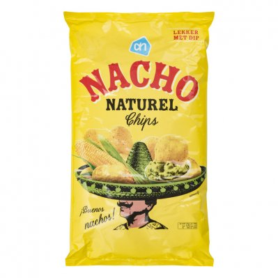 AH Nacho chips naturel 200g