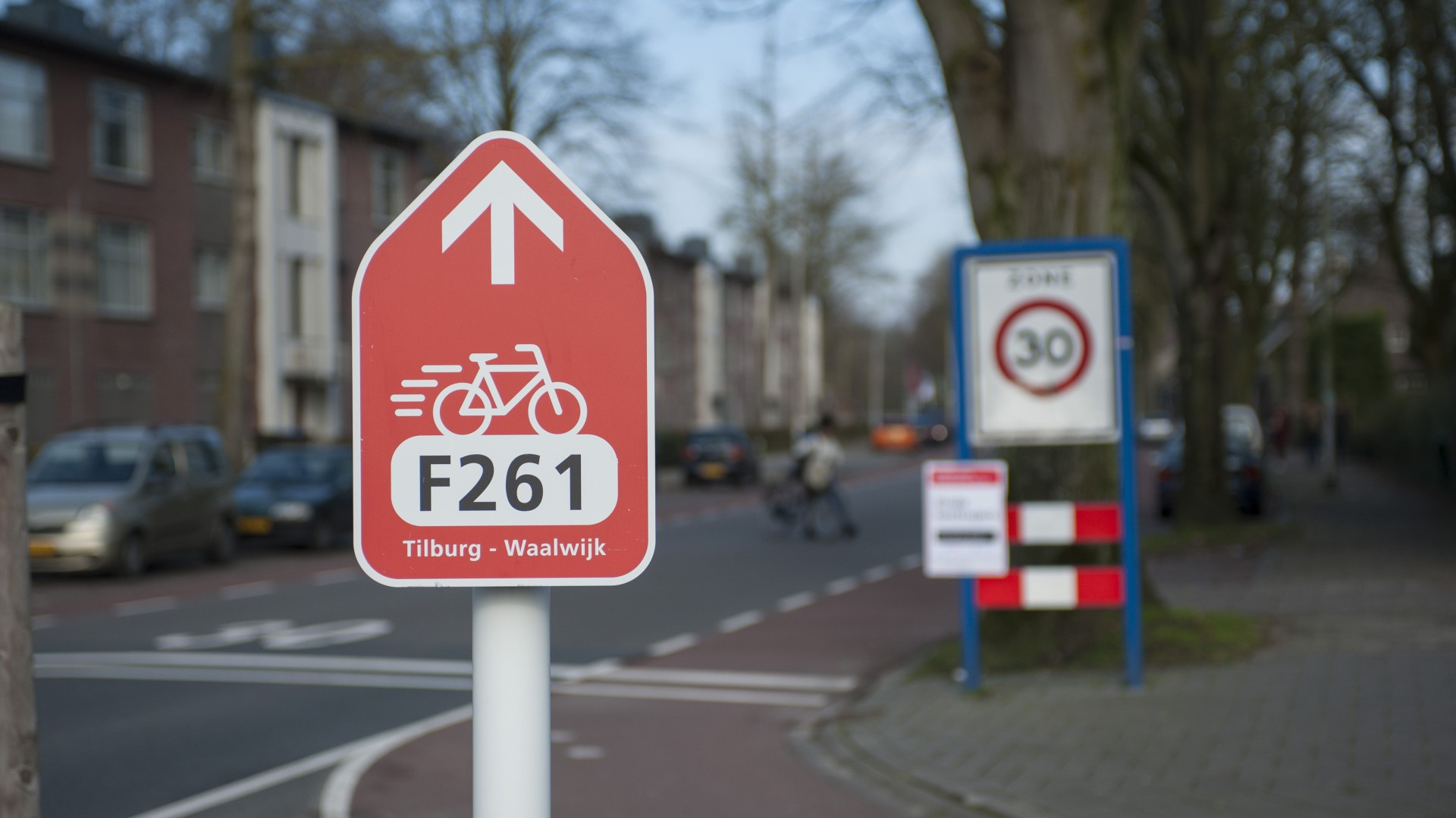 Optimale wegwijzers langs Brabantse snelfietsroute