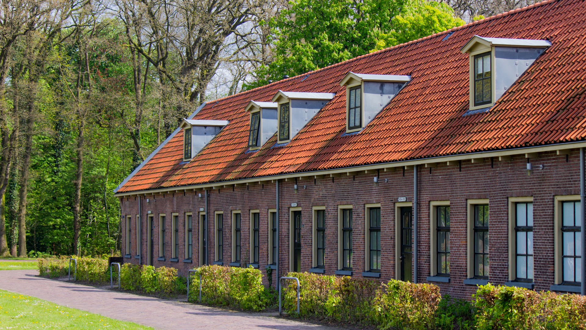 Early 19th Century Prison Complex in Veenhuizen, the Netherlands