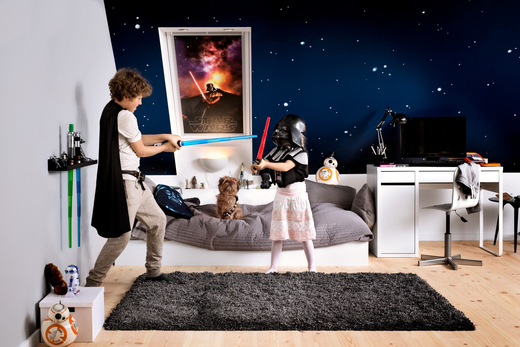 4 astuces pour cr er une chambre d 39 enfant inspir e de la saga star wars. Black Bedroom Furniture Sets. Home Design Ideas
