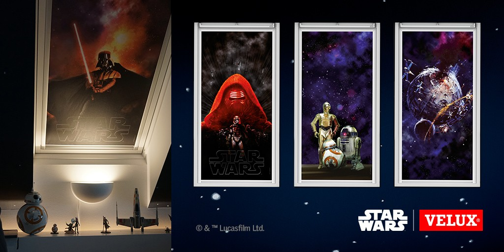 DIY_Collection de stores STAR WARS & VELUX GALACTIC NIGHT