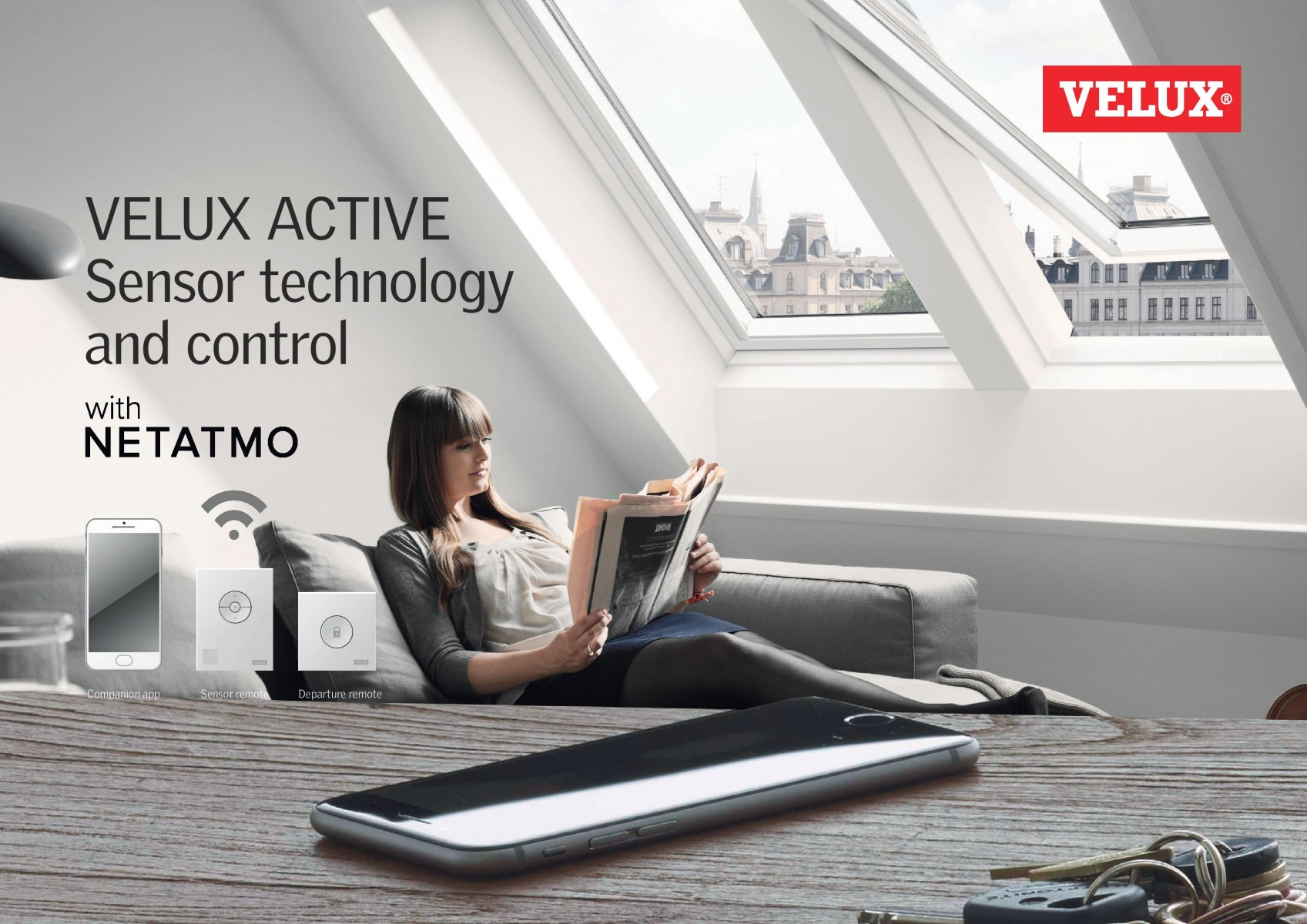 Solution VELUX ACTIVE with Netatmo
