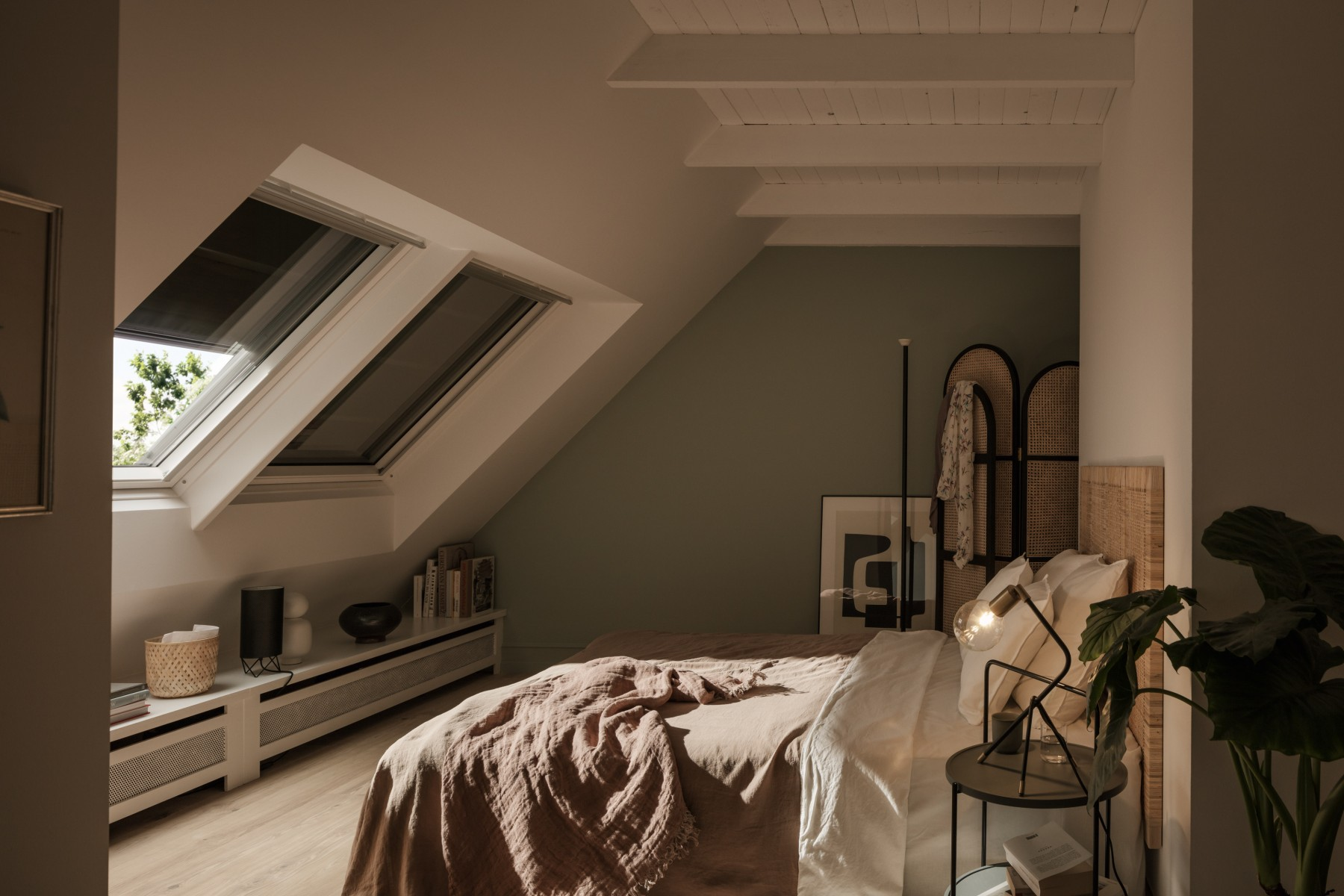 Volets roulants VELUX_chambre