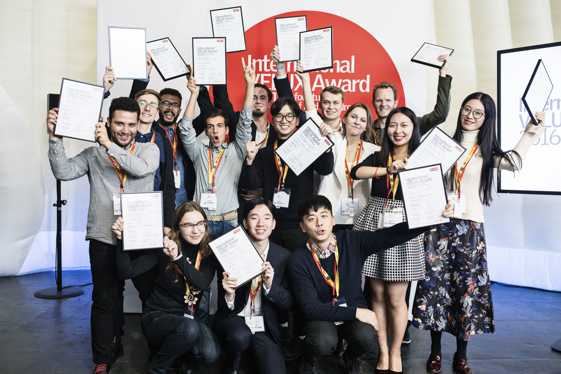Winnaars International VELUX Award 2018
