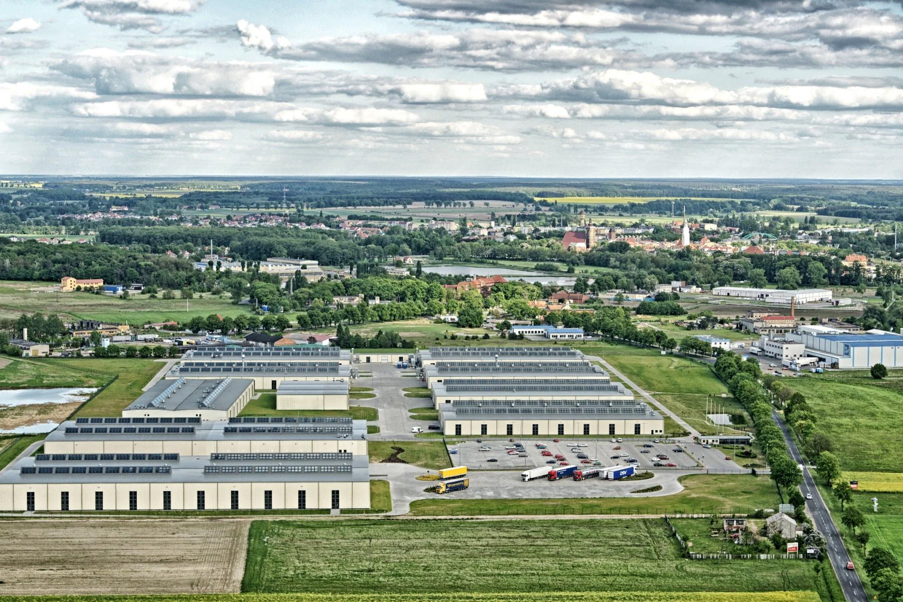 Fabryka okien i kołnierzy VELUX w Namysłowie
