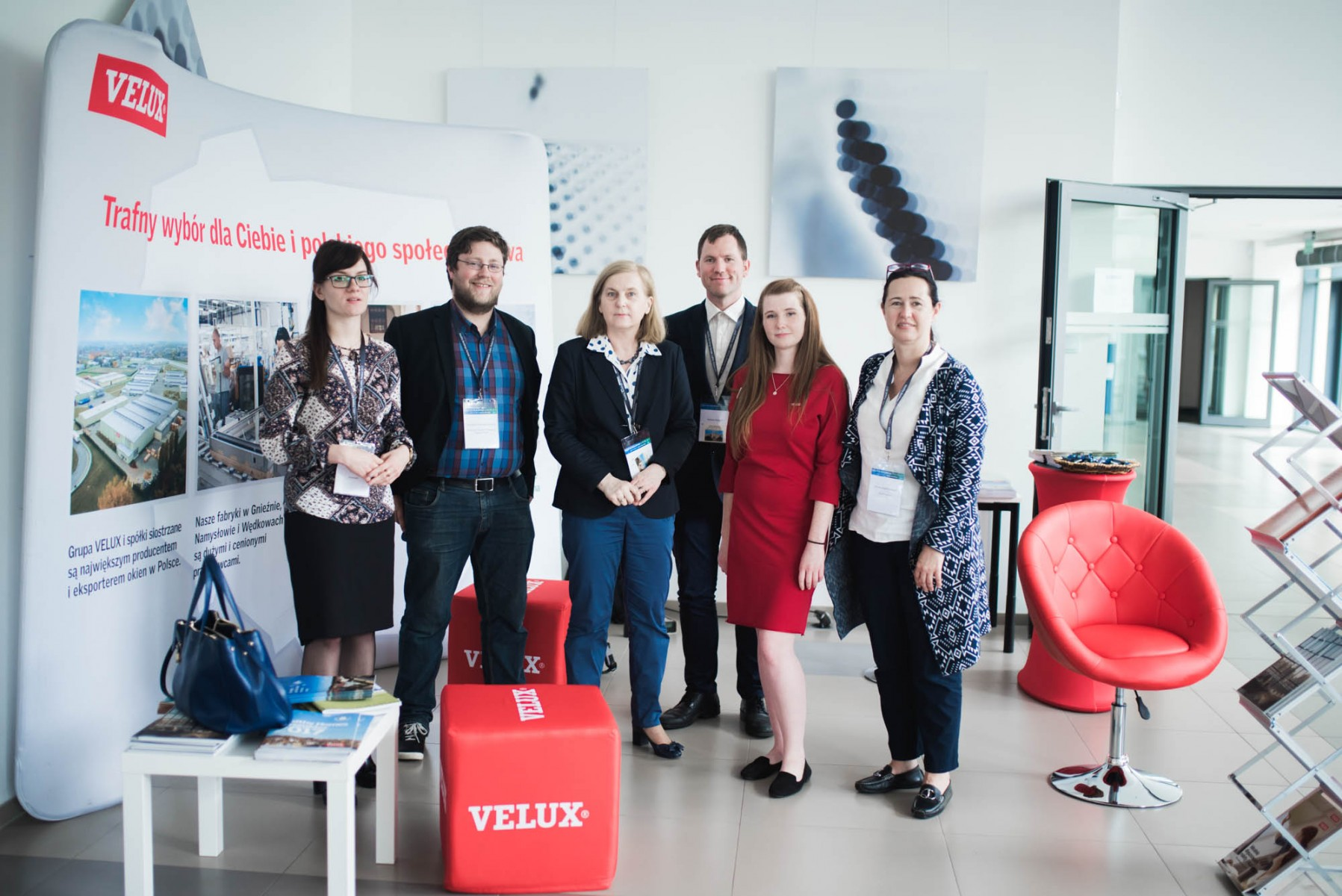 Pracownicy firmy VELUX na Konferencji Healthy Buildings 2017 - Europe.