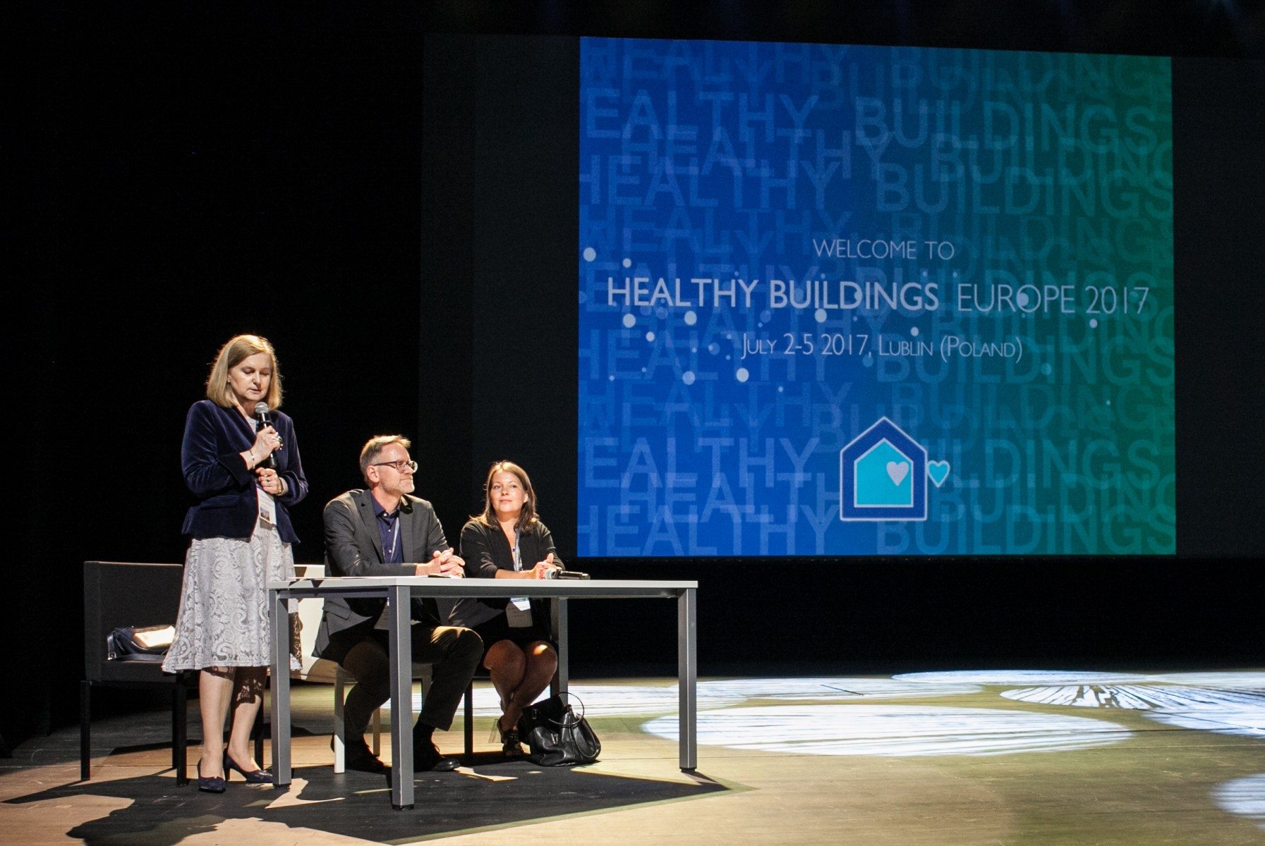 Konferencja Healthy Buildings 2017 - Europe.