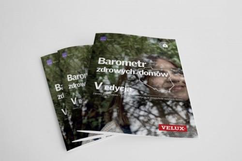 Okładka V edycji Barometru zdrowych domów