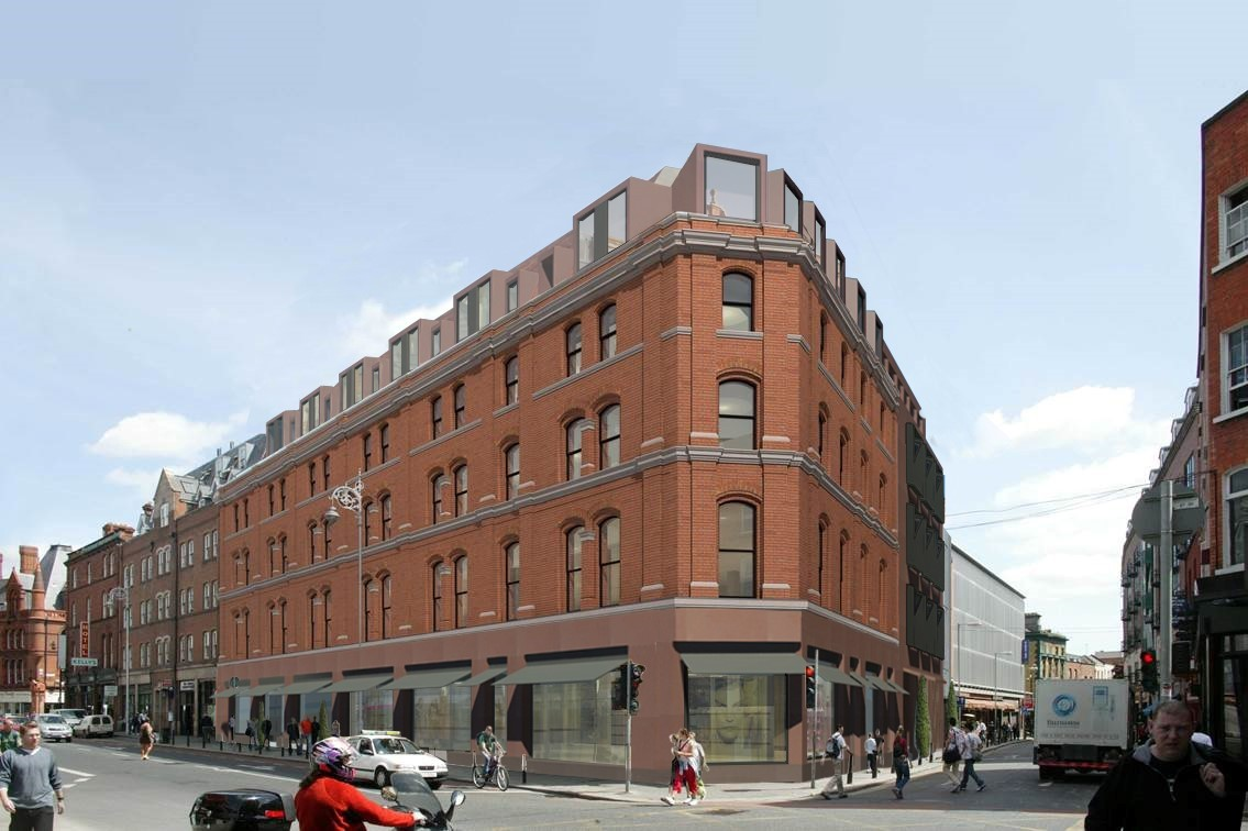 New Premier Inn hotel at South Great George's Street, Dublin 2