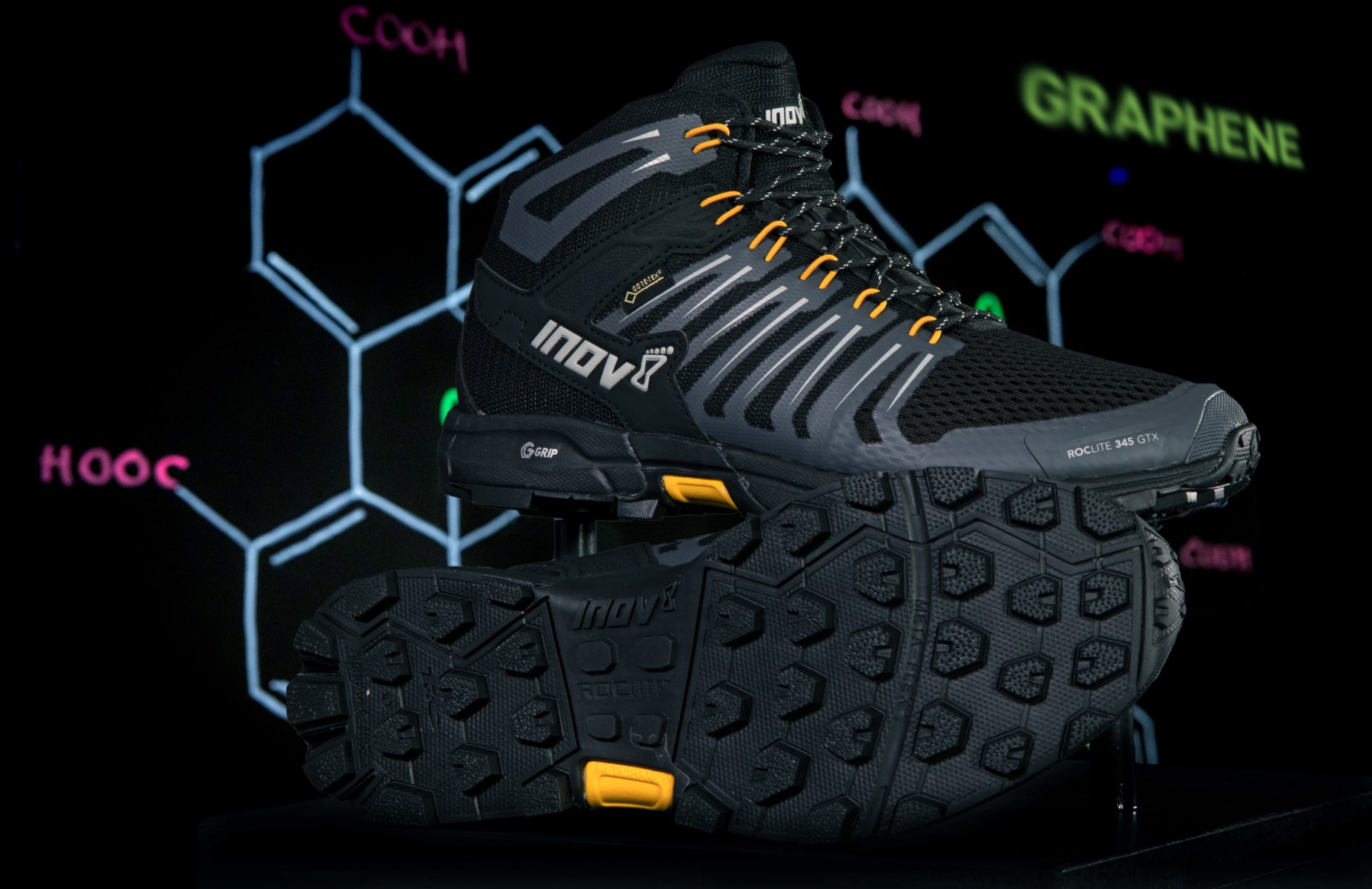 Inov-8 Graphene Insitute-ROCLITE 345 GTX ORANGE
