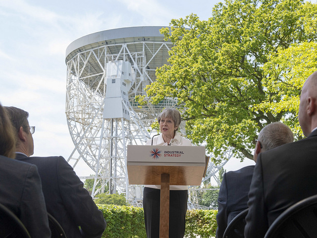 Prime Minister at Jodrell Bank