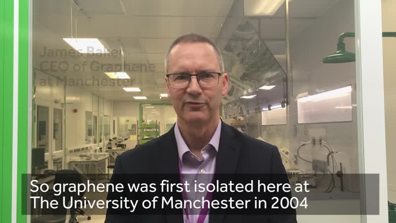 New graphene Chief Executive appointed at The University of Manchester