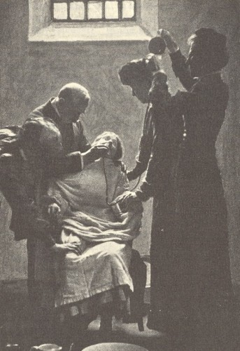 Forcefeeding of a Suffragette