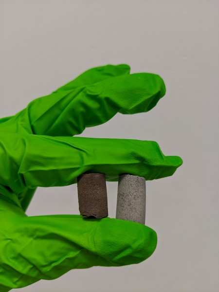 Scientists develop cosmic concrete from space dust and astronaut blood