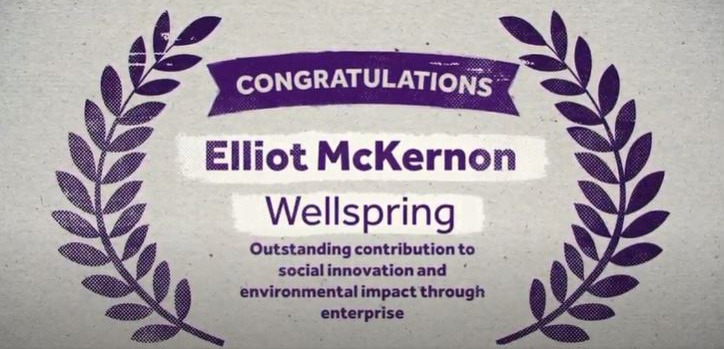 Elliot McKernon Making a Difference Award