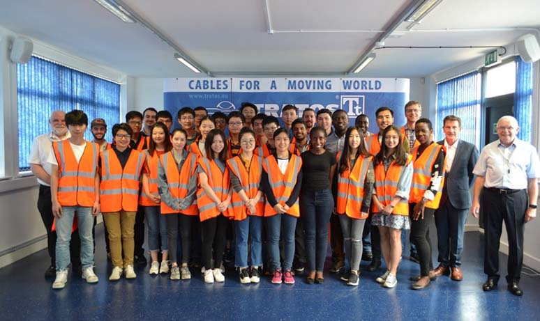 MSc Electrical Power Systems industry visit group