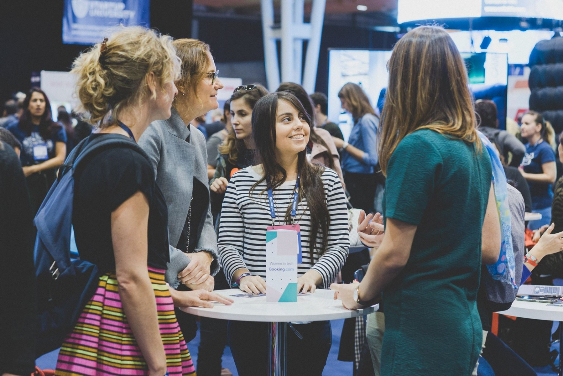 Booking.com Women in Tech Mentor Program at Web Summit