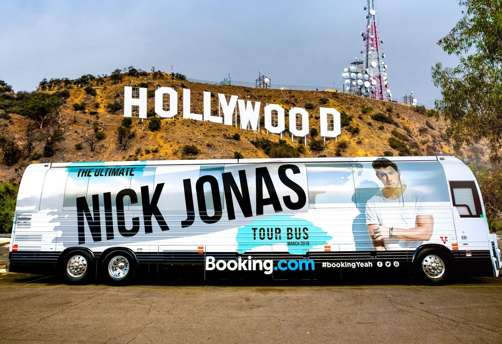 The Ultimate Nick Jonas Tour Bus
